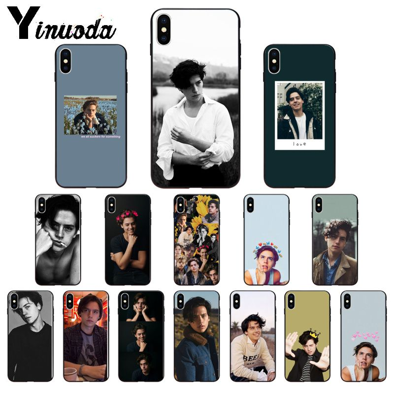 Yinuoda TV americana Riverdale serie Cole Sprouse silicona suave TPU funda para iPhone x XS MAX 6 6S 7 7plus 8 8Plus 5 5S XR