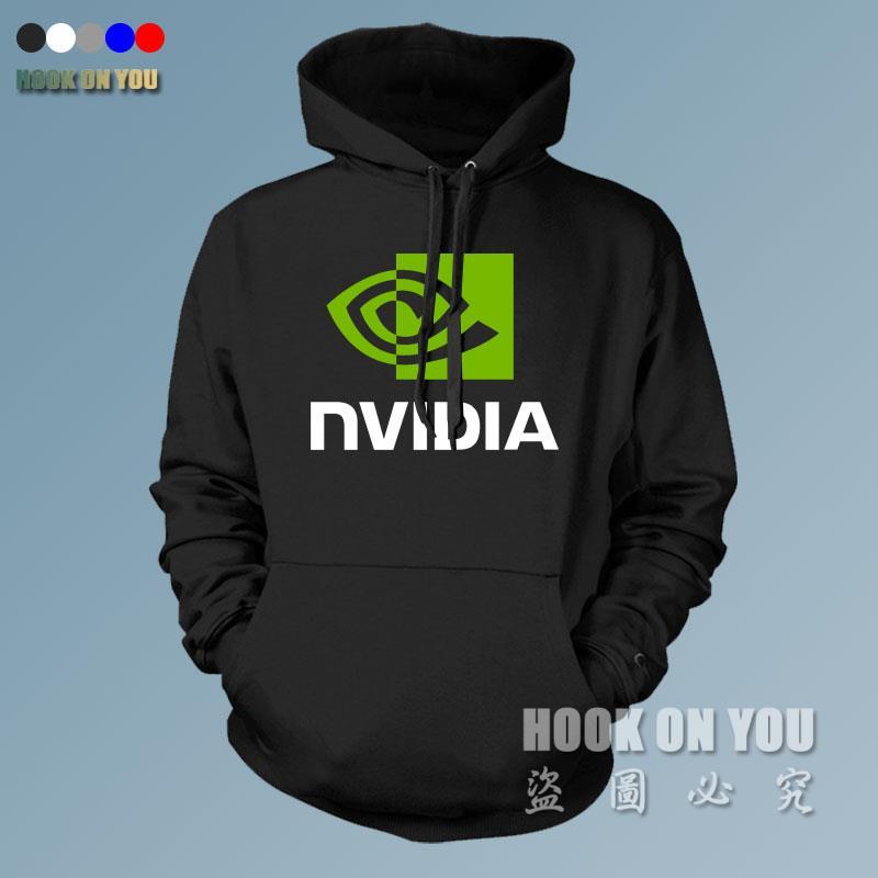 Graphique Nvidia LOGO Imprimé sweats capuches Gamer vêtements LOL CSGO polaire