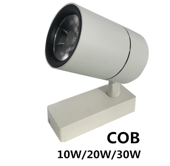 High-quality COB LED Track lamp Spotlight Ceiling Mounted 3 lines Rail track light Decorative Led light Track 10W/20W/30W