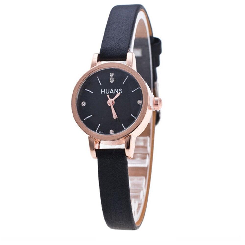 Reloj de pulsera de regalo de cumpleaños de recuerdo de viaje con correa fina para mujer de moda minimalista
