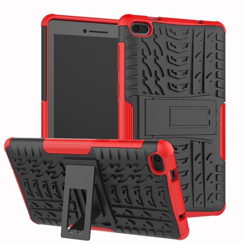 Case For Lenovo Tab E7 E 7 TB-7104F TB-7104 7.0 inch Cover Heavy Duty 2 in 1 Hybrid Rugged Durable Funda Tablet case+Film+Pen