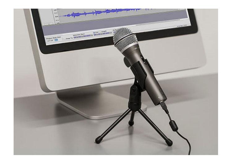 100% Original Samson Q2U Handheld Dynamic USB Microphone with XLR and USB I/O High Quality enlarge