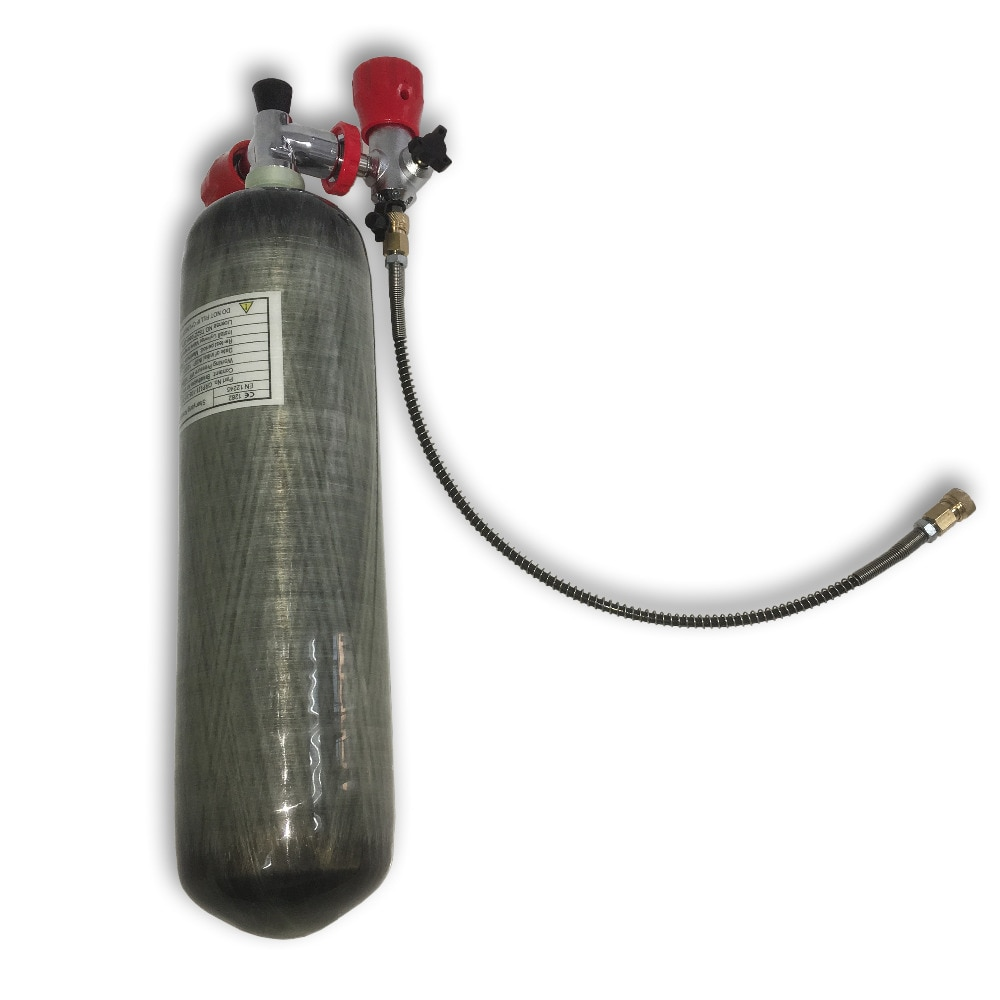 AC103101 مسدس هواء مضغوط لاصطياد خزان سكوبا 4500Psi سلاح الجو كوندور الغوص زجاجة صغيرة الغوص 300Bar الأمن والحماية