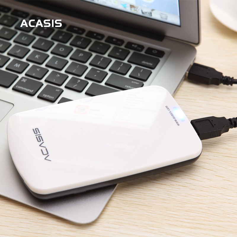 Free shipping On Sale ACASIS Original  2.5'' USB2.0 HDD Mobile Hard Disk External Hard Drive Have power switch Good price