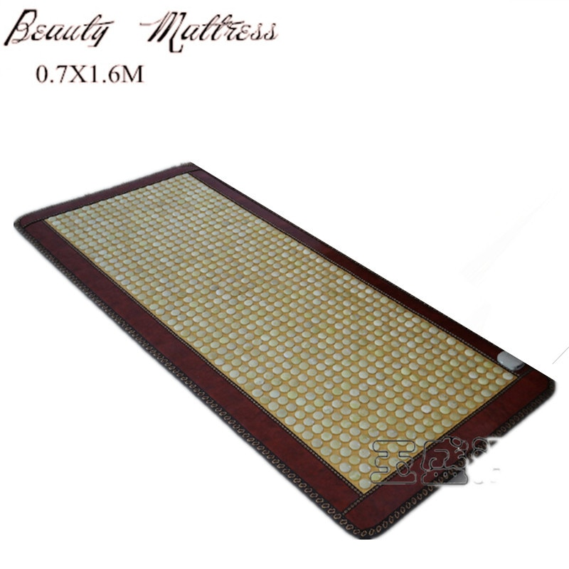 High Quality Infrared Heated Jade Cushion Promote Blood Circulation far infrared jade health sleeping mattress with eye cover