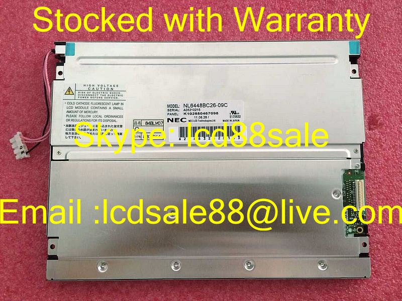 Pantalla LCD industrial NL6448BC26-09C de mejor precio y calidad