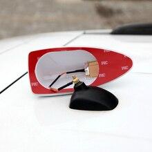 Antenne de voiture à signal fort spécial   Pour Audi / BMW / Benz pour voitures, antenne de lautoradio requin aileron, antenne de voiture radio FM, signal aérien