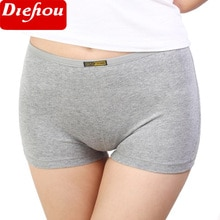 3 Pieces/Pack Summer Women Safety Short Pants Femme Cotton Underwear Boxer Shorts Underpants Big Size Seamless Panties For Women
