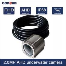 CCDCAM caméra sous-marine 2 mp   100M 1080P AHD, caméra de piscine de natation