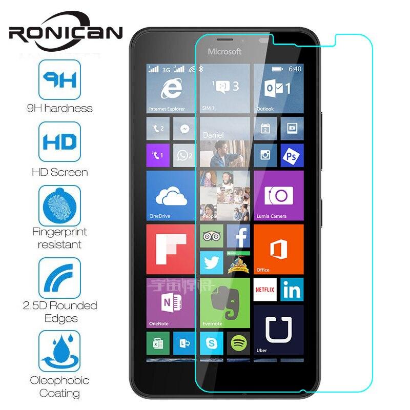 RONICAN-Protector de pantalla para Nokia, película protectora de vidrio templado Dual Sim...