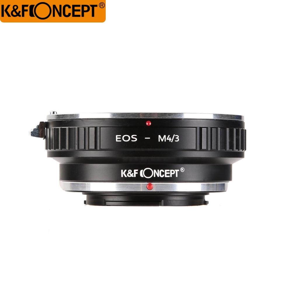 K&F Concept Адаптер Переходник EOS-М4/3 MTF предназначен для установки объективов с креплением Canon EOS EF на фотоаппараты системы M4/3 MFT (Olympus/Panasonic ), т.е.