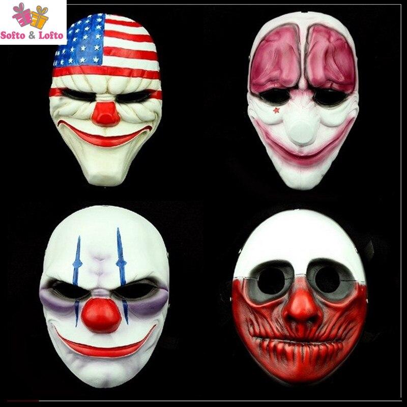 Envío Gratis Joke Dal Chain Wolf Hox máscaras de pago de alta calidad detalles vívidos del juego Fans ton colección juguete día de Halloween regalos