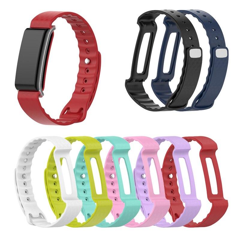 Faixa de Relógio de Cor para Huawei juventude A2 Substituição Banda Esportes Cinta Faixa de Relógio de Pulso Strap Pulseira Relógios Inteligentes Acessórios
