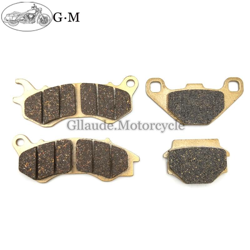 Pastillas de freno delantero y trasero para motocicleta, accesorio para PEUGEOT Django...