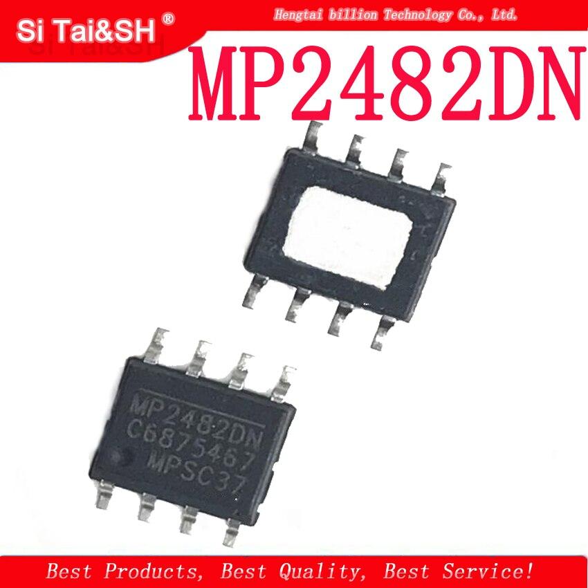 10PCS MP2482DN MP2482 SOP8 5A de tubo de suministro de