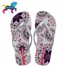 Hotmarzz femmes été bohême plage sandales tongs plates dames mode pantoufles chaussures dintérieur argent diapositives florales