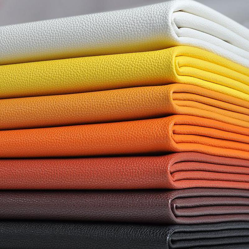 Pu sintético de cuero ecológico para bolso, tejido de polipiel para muebles,...