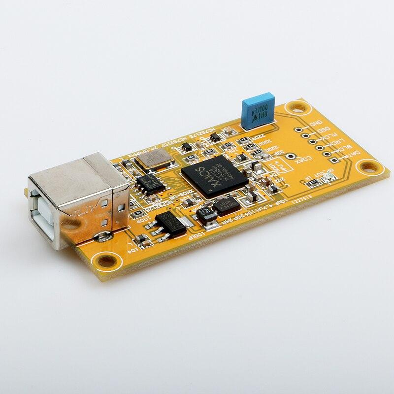 K. GuSS XMOS U8 audio numérique USB prise en charge de la carte fille 32BIT livraison gratuite