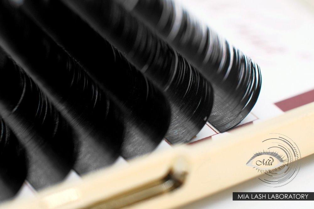 [Cashmere Lash. 15/. 20 C/D + 8-15mm/longitud de la mezcla] # MATTE # suave y ligero plano x-wrap Cachemira extensión de pestañas Semi permanente