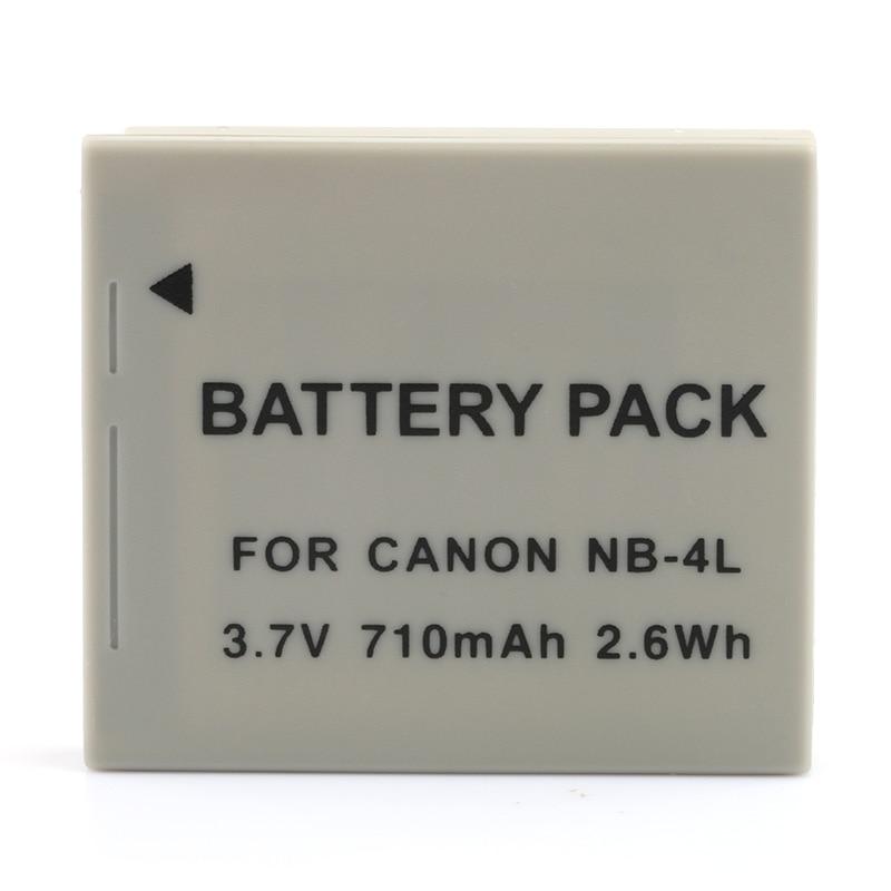LANFULANG NB-4L litowo-jonowy wymiana baterii (1 paczki) dla Canon SD30 SD40 SD200 SD300 SD400 SD430 SD450 SD600 SD630 SD750
