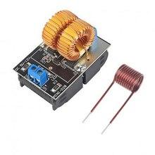 Offre spéciale 5-12V 120W Mini ZVS Induction panneau chauffant Flyback pilote chauffage bricolage cuisinière + bobine dallumage