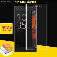 Full Cover Clear Soft TPU Film Screen Protector For Sony Xperia XA2 Ultra XZ2 XZ Premium Cover Curve