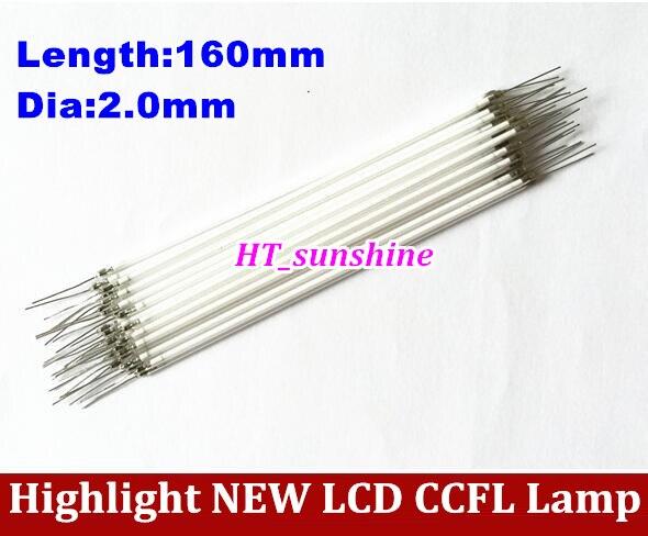 15 Uds alta calidad 160MM longitud LCD tubo de retroiluminación de luz CCFL, 160MM 2,0mm, 160MM longitud CCFL Luz