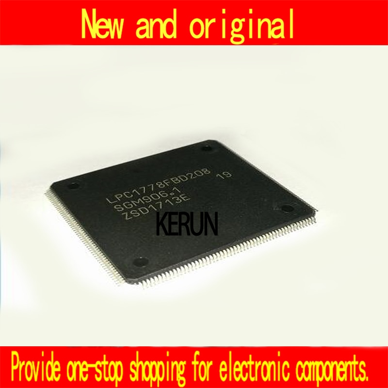 Original 5 pçs/lote LPC1778FBD208 LPC1778 LQFP-208 Novo original chip IC