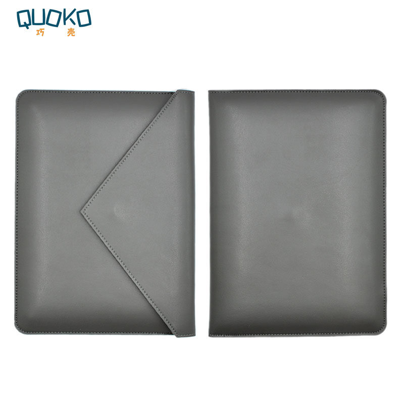 Bolsa para portátil caso luva de couro de microfibra para lenovo thinkpad x250 x260 x270 x280 12.5 polegada estilo envelope de bolso duplo