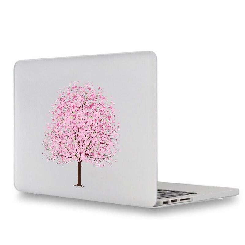 Autocollant pour ordinateur portable cerisier fleur arbre pour Apple Macbook autocollant Pro Air Retina 11 12 13 15 pouces Mac HP Dell ordinateur portable Chromebook peau