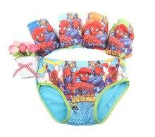 Детское нижнее белье с рисунком Человека-паука, 2-7 лет, разные цвета, TP01