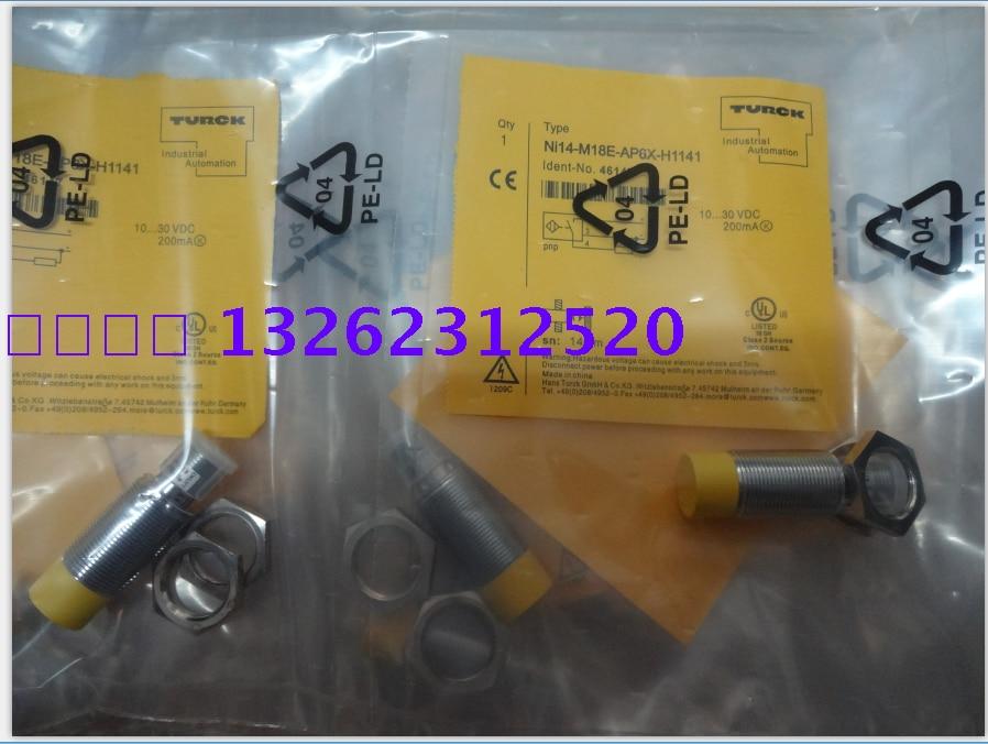 NI14-M18E-AP6X-H1141 NI14-M18E-AN6X-H1141 Turck  New High-Quality Proximity Switch Sensor