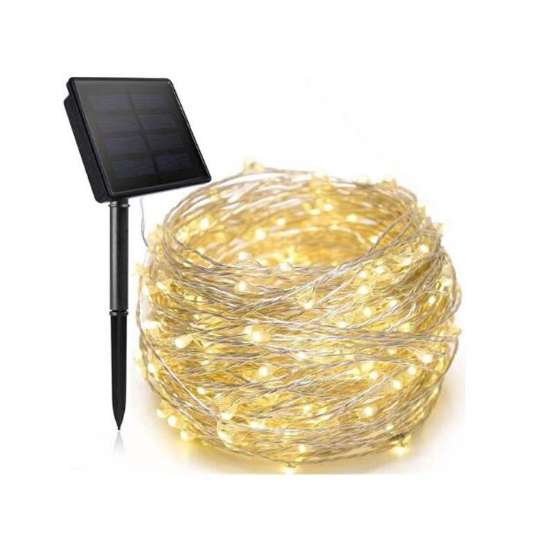 Luces LED solares imp para exteriores, caja de luces de Navidad para...