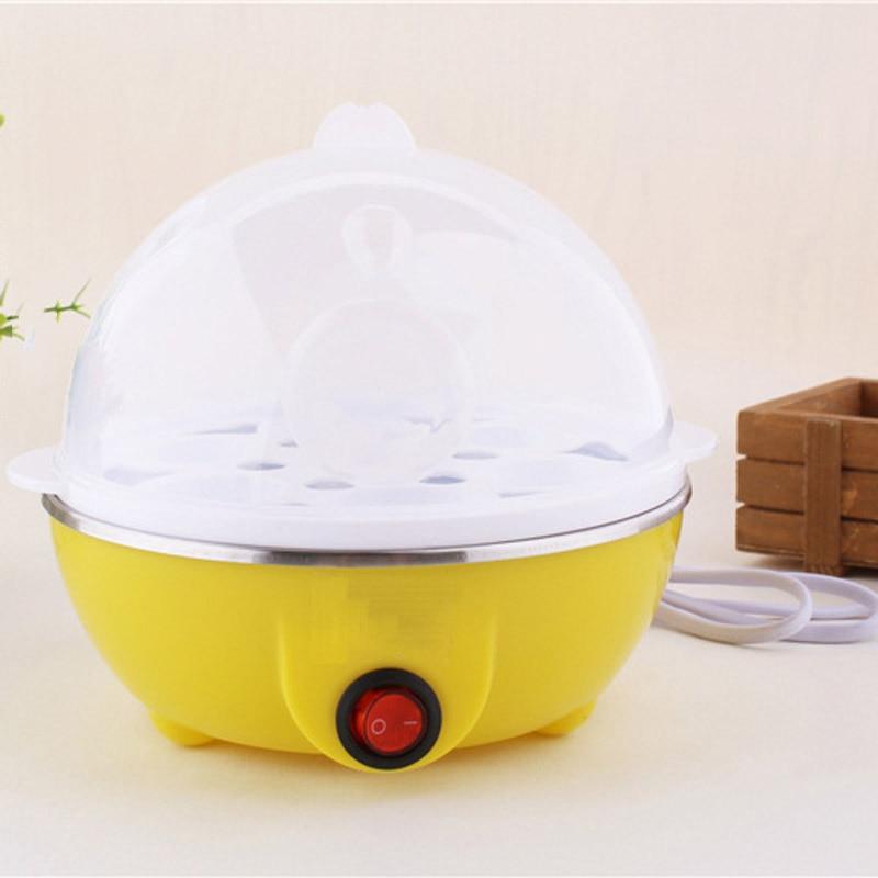 Hızlı yumurta pişiricisi vapur elektrikli yumurta Poacher kazan 7 yumurta kapasiteli PAK55