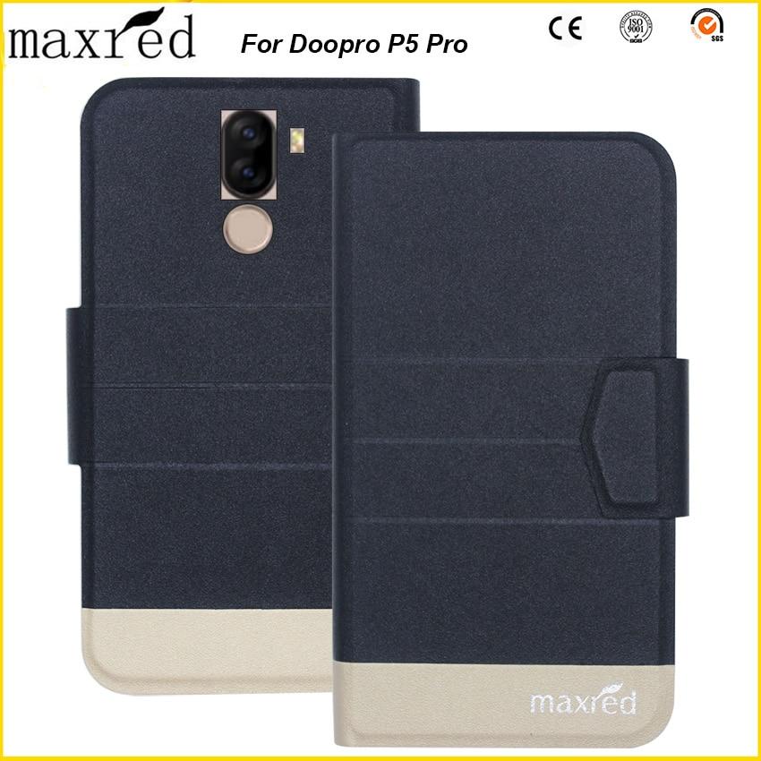 Original! Doopro P5 Pro Case 5 Colors High Quality Flip Ultra-thin Luxury Leather Wallet Phone Case For Doopro P5 Pro