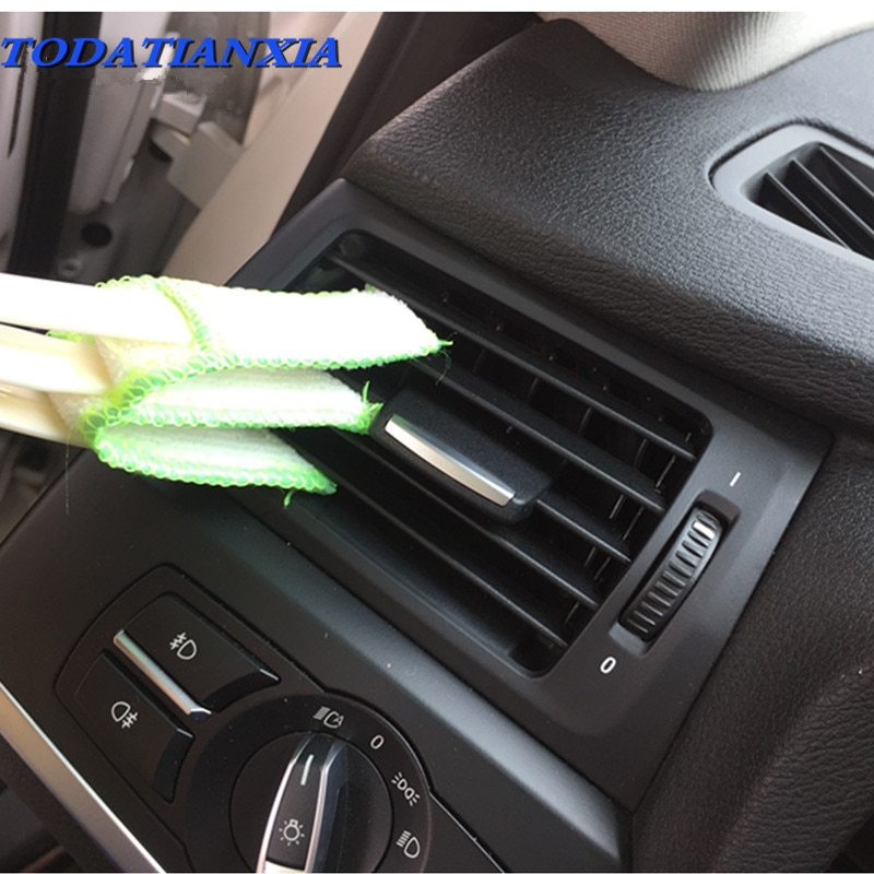Outil de brosse de nettoyage de voiture   Nouveau style 2020 pour Jeep Wrangler Renegade Grand Cherokee Buick Volvo XC60 S60 XC90 V70 Renault Megane 2