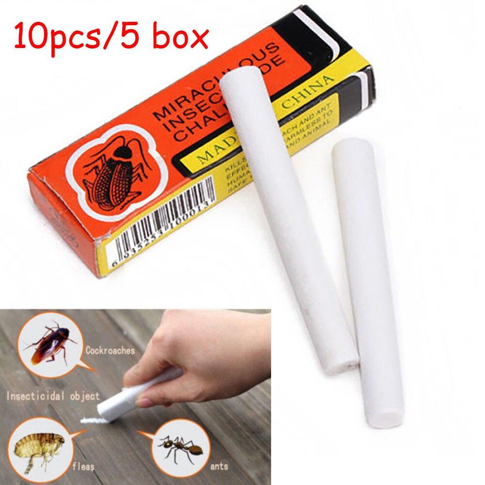 10 шт. волшебная ручка для насекомых меловой инструмент для уничтожения тараканов, вшей, блошиных жуков, приманки для борьбы с вредителями, инсектициды