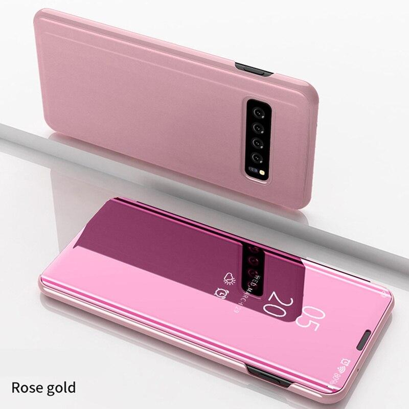Funda transparente para Samsung Galaxy S10 Plus, S10e, S9, S8, S7 Plus, con vista clara, nueva y elegante