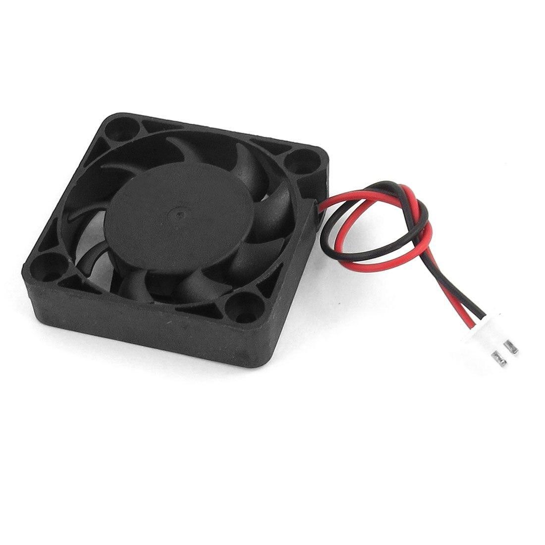 ¡Promoción! Caliente 40mm x 40mm x 10mm DC 12V 0.1A 2 pines PC funda CPU ventilador de refrigeración