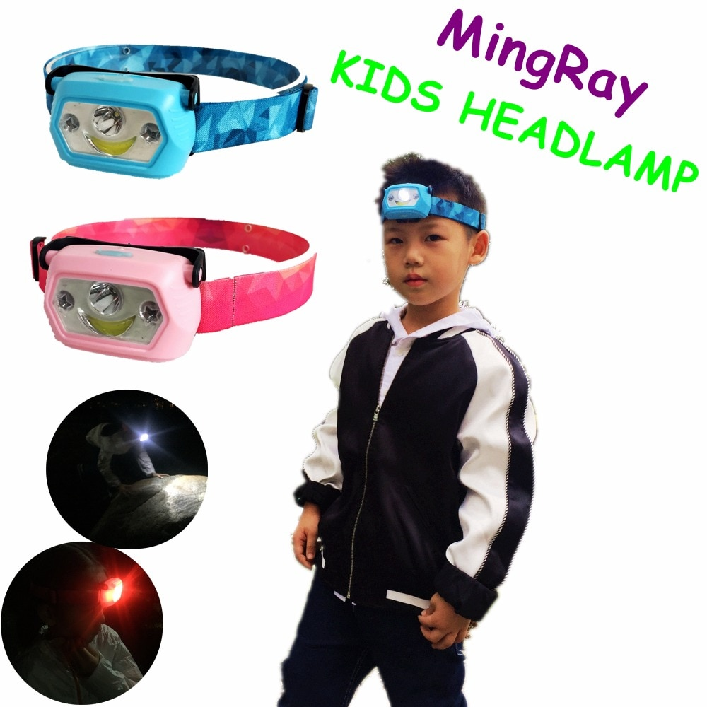 AliExpress - MingRay Child Novelty Headlight USB Rechargeable LED Head Lamp for Kid Camping Student Creativ Festival Gift  boy and girl