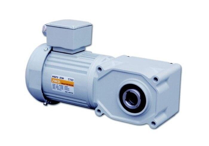 Motor de ángulo recto hueco asíncrono Vertical de baja velocidad CA 220 V/380 V 200w engranaje motorreductor accesorios de equipos mecánicos