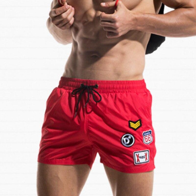 Мужские плавки DESMIIT, пляжные шорты-боксеры для серфинга, купальный костюм