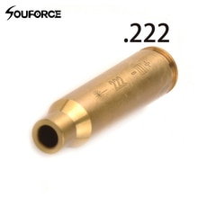 Chasse. 222 REM MAG cartouche Laser rouge alésage cuivre forage/redimensionnement