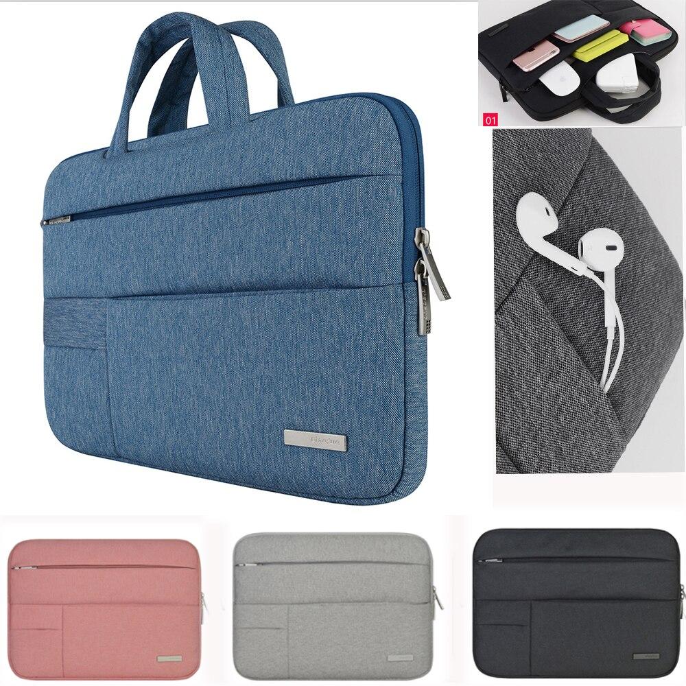Сумка для ноутбука NWorld, сумка для компьютера 11 12 13 14 15,6 дюйма, чехол для ноутбука Macbook Air Pro HP xiaomi honor magicbook 14