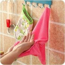 De bambú de fibra de microfibra cocina mágica toalla para lavar platos de alta eficiencia Anti-grasa práctica cocina limpia herramientas trapos