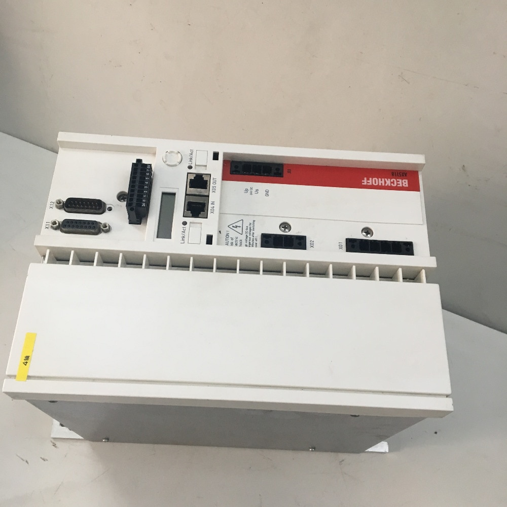 BECKHOFF AX5118 Digital compacto Servo Drive utilizado en buenas condiciones