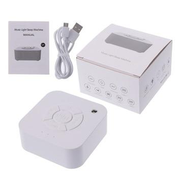 Machine à bruit blanc, Rechargeable par USB, arrêt chronométré, pour dormir et se détendre, pour bébé et adulte, voyage au bureau