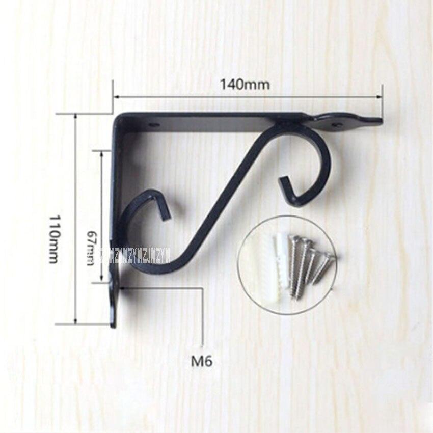 96 قطعة/الوحدة جديد وصول الأوروبي نمط الحديد مثلث قوس جدار الحق زاوية قوس الخشب لوحة رفوف ثابت الحاملة إطار