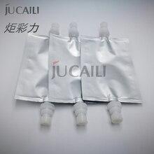 Jucaili 2 pièces jet dencre imprimante sac dencre filtre pour Mutoh machine pour imprimante pièces Mutoh VJ 1604 1604W 1624 sous sac dencre 90X130mm