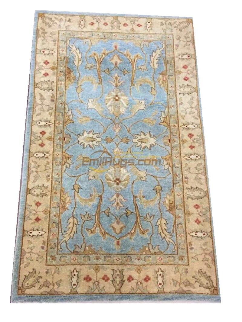الأصلي واحد تصدير التركية السجاد اليدوي OUSHAK Ozarks الصوف الخالص السجاد XD1-93 3X5gc158zieyg14